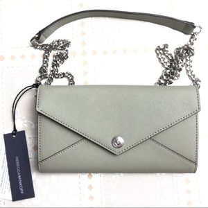 REBECCA MINKOFF Wallet on a Chain Without Studs
